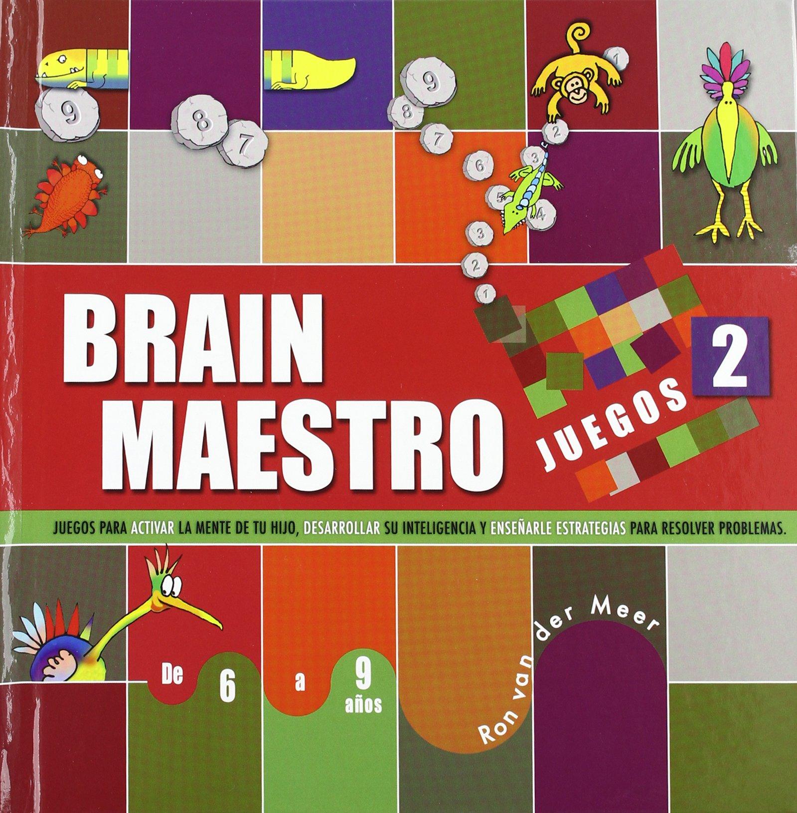 Brain Maestro 2 (Infantil Y Juvenil): Amazon.es: Van der Meer ...