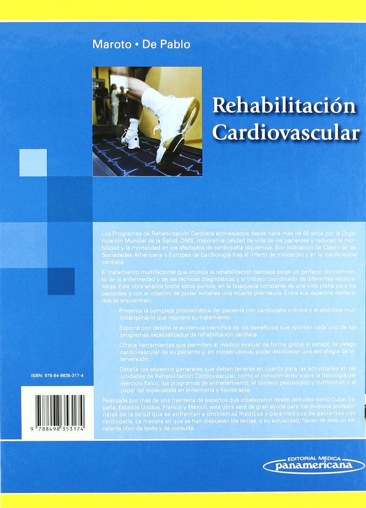 Rehabilitación Cardiovascular: Amazon.es: José Máría Maroto Montero ...