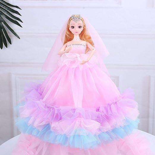PGYZ - Caja de Regalo para niños de muñecas Barbie de 4 ...