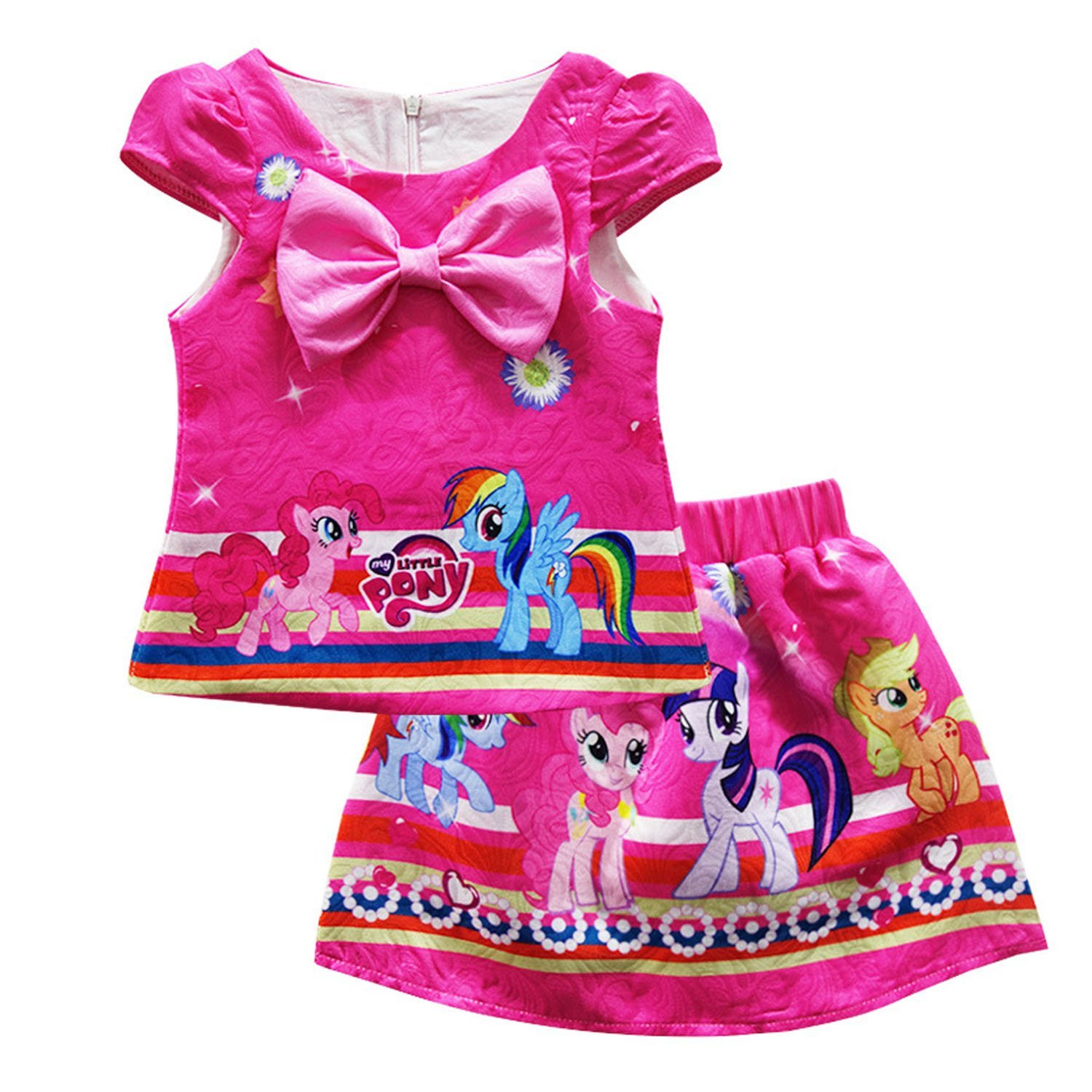PCLOUD Kids My Little Pony T-Shirt Two Piece