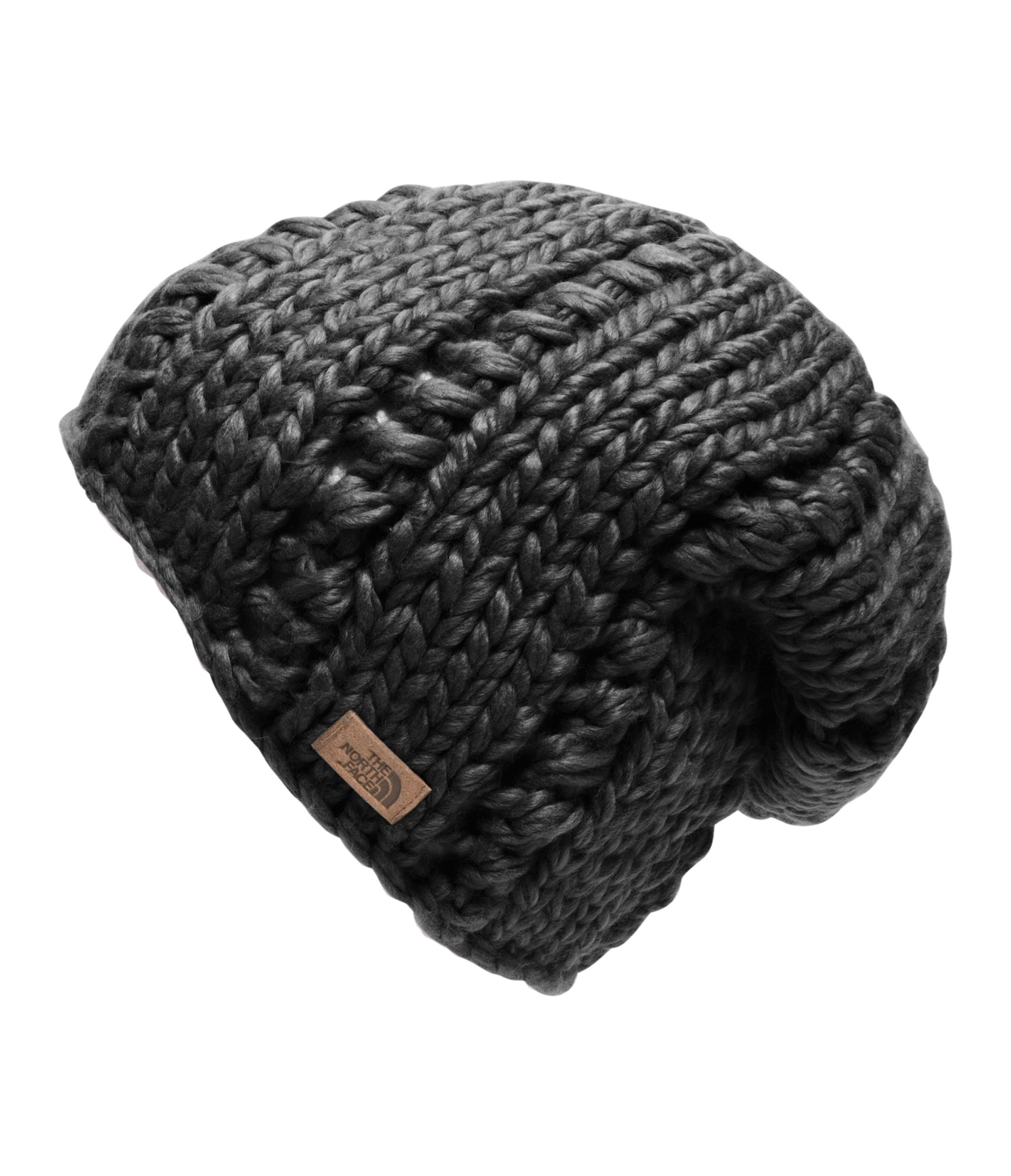 The North Face Chunky Knit Beanie - Women's TNF Black by The North Face