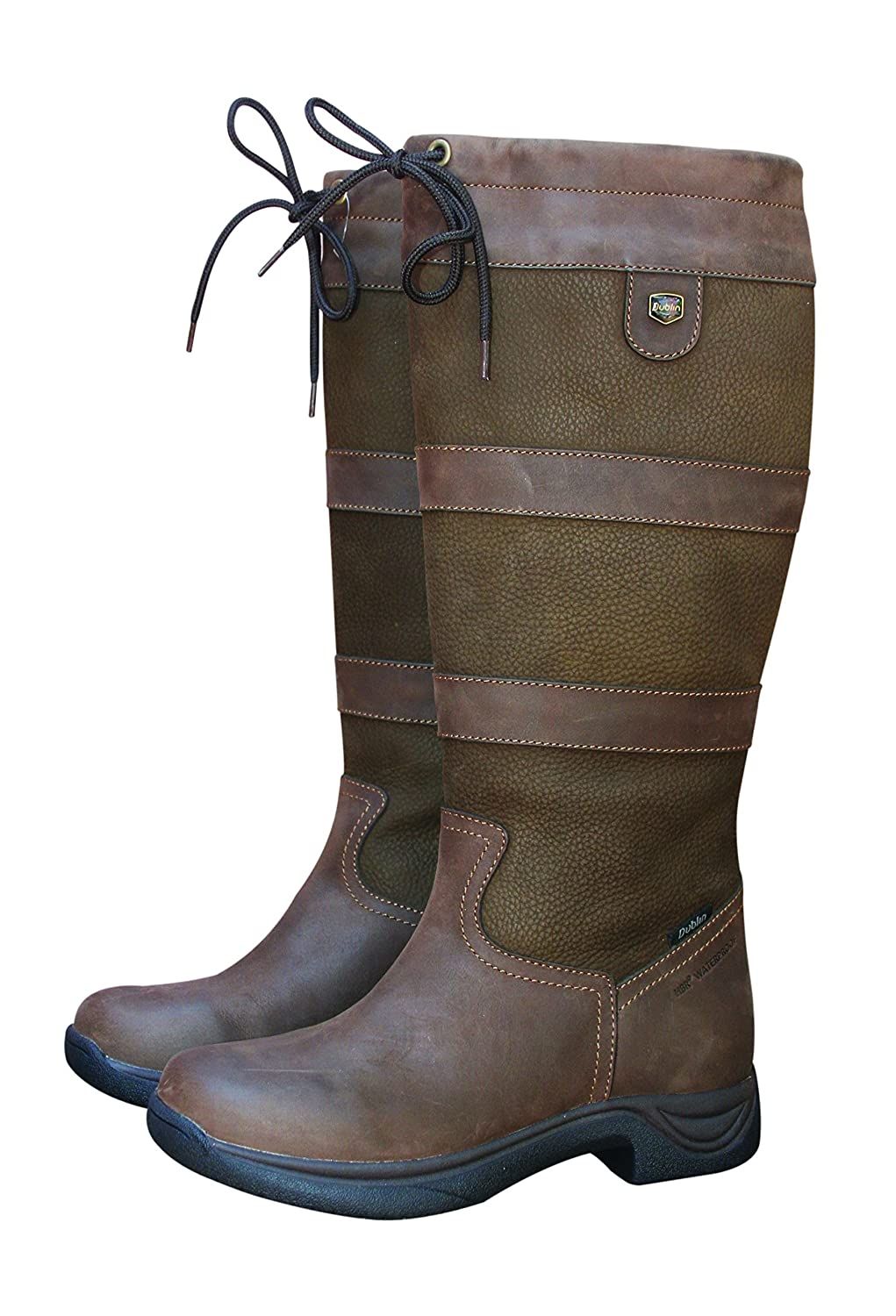 Dublin Ladies River Boots II Chocolate B075C72K8X 10