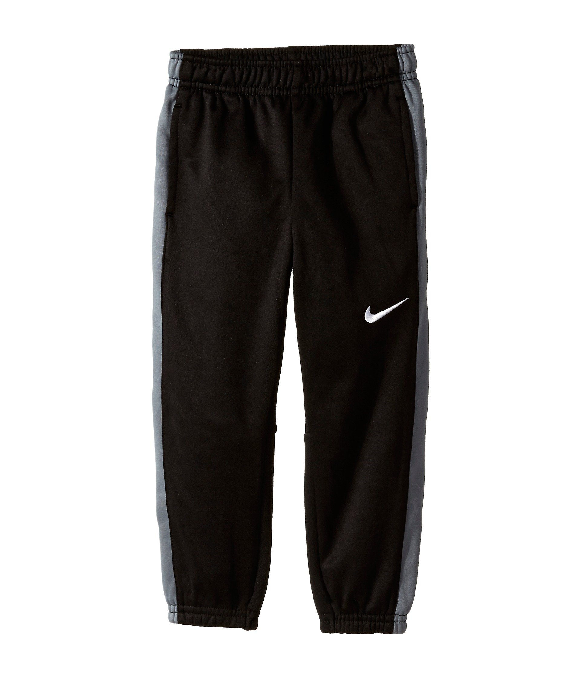 Nike Kids Boys' Fleece Cuff Pants (Little Kids), Black/Grey, 4 X One Size