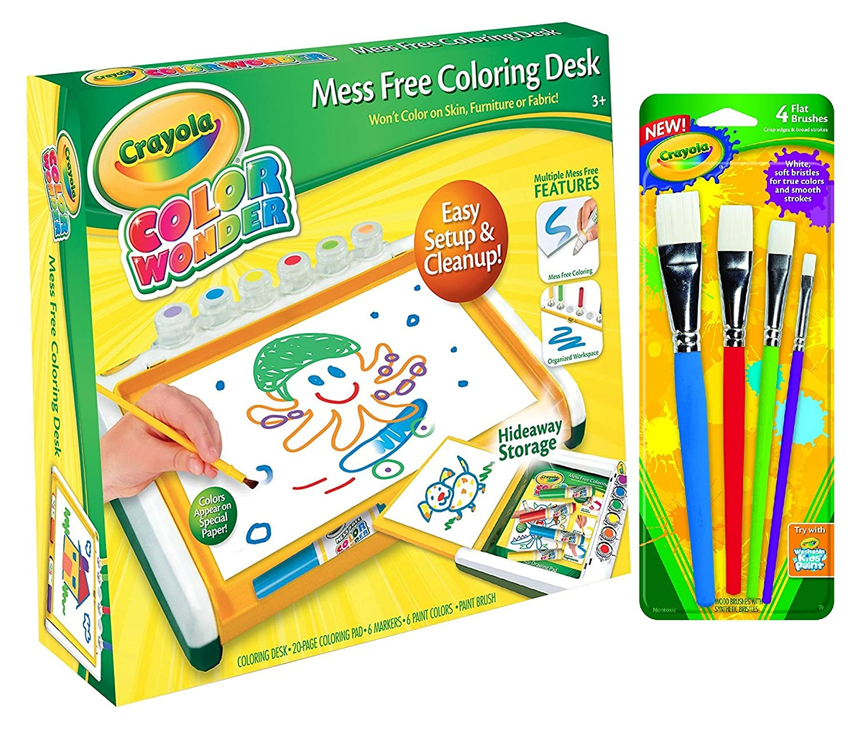 Amazon.com: Crayola Color Wonder Mess Free Coloring Desk: Toys & Games