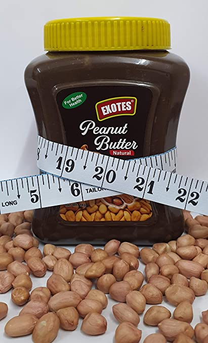 Exotes All Natural Peanut Butter (Chocolate Smooth), 1000 g