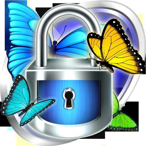 Smart App Lock Butterfly Theme