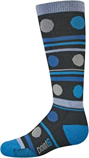 """product image for point6 Girl's Gum Drop Light""""Over The Calf"""" Socks"""