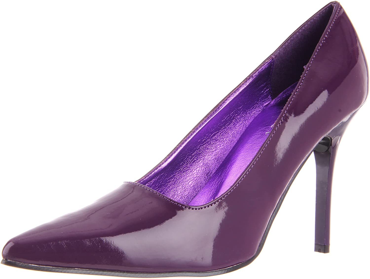 The Highest Heel Women's Classic Pump B003HC0Y6I 7 B(M) US|Purple Patent Polyurethane