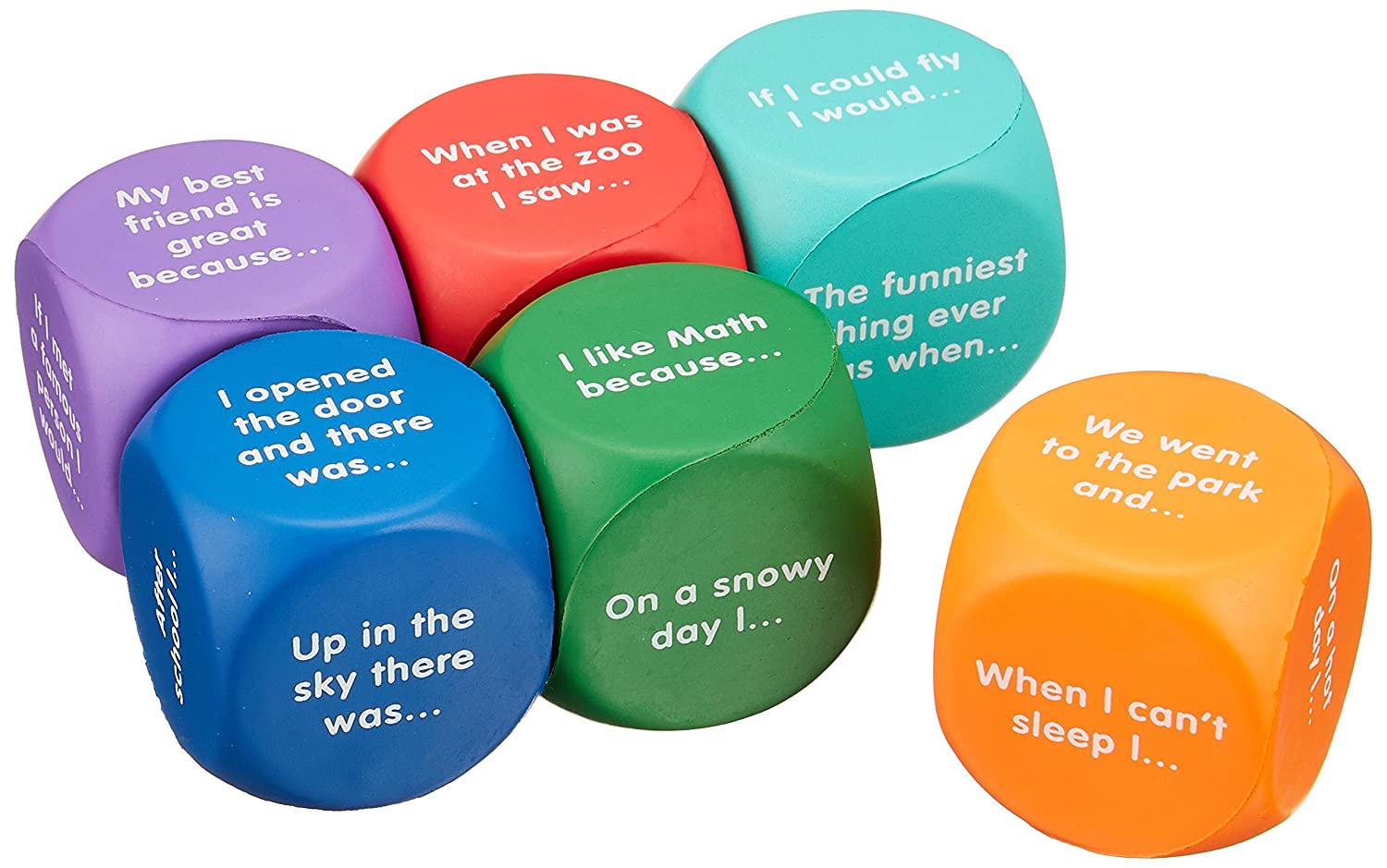 Learning Resources LER7232 Writing Prompt Cubes