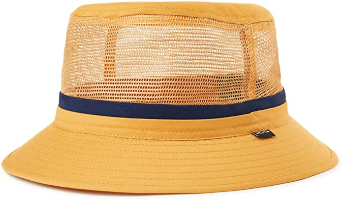 dbf1c3cc Brixton Hardy Bucket Hat - Nugget Gold: Amazon.co.uk: Clothing