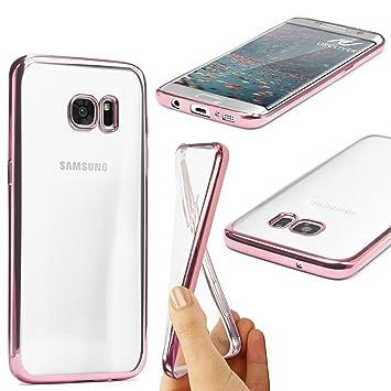 Urcover® Samsung Galaxy S7 Edge | Funda Carcasa Protectora Bordes ...