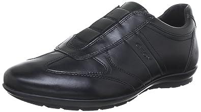 Geox U Symbol L Shoe  Black  Mens  435