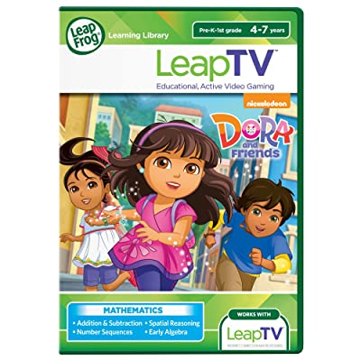 LeapFrog LeapTV Nickelodeon Dora and Friends Educational, Active Video Game: Toys & Games