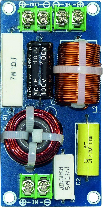 Dynavox 207277 Frequenzweiche 2 Wege 120 W Model 2w120 Elektronik
