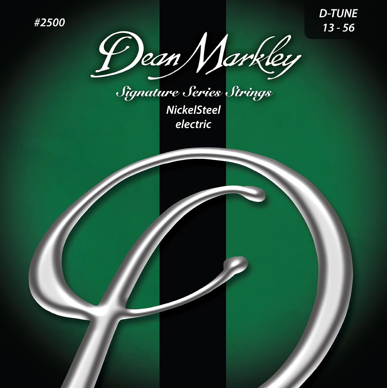 Dean Markley 2500B - Juego de cuerdas para guitarra eléctrica de acero de níquel, 13-56