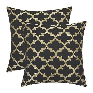 Amazon.com: CaliTime - Juego de 2 fundas de almohada, sofá ...