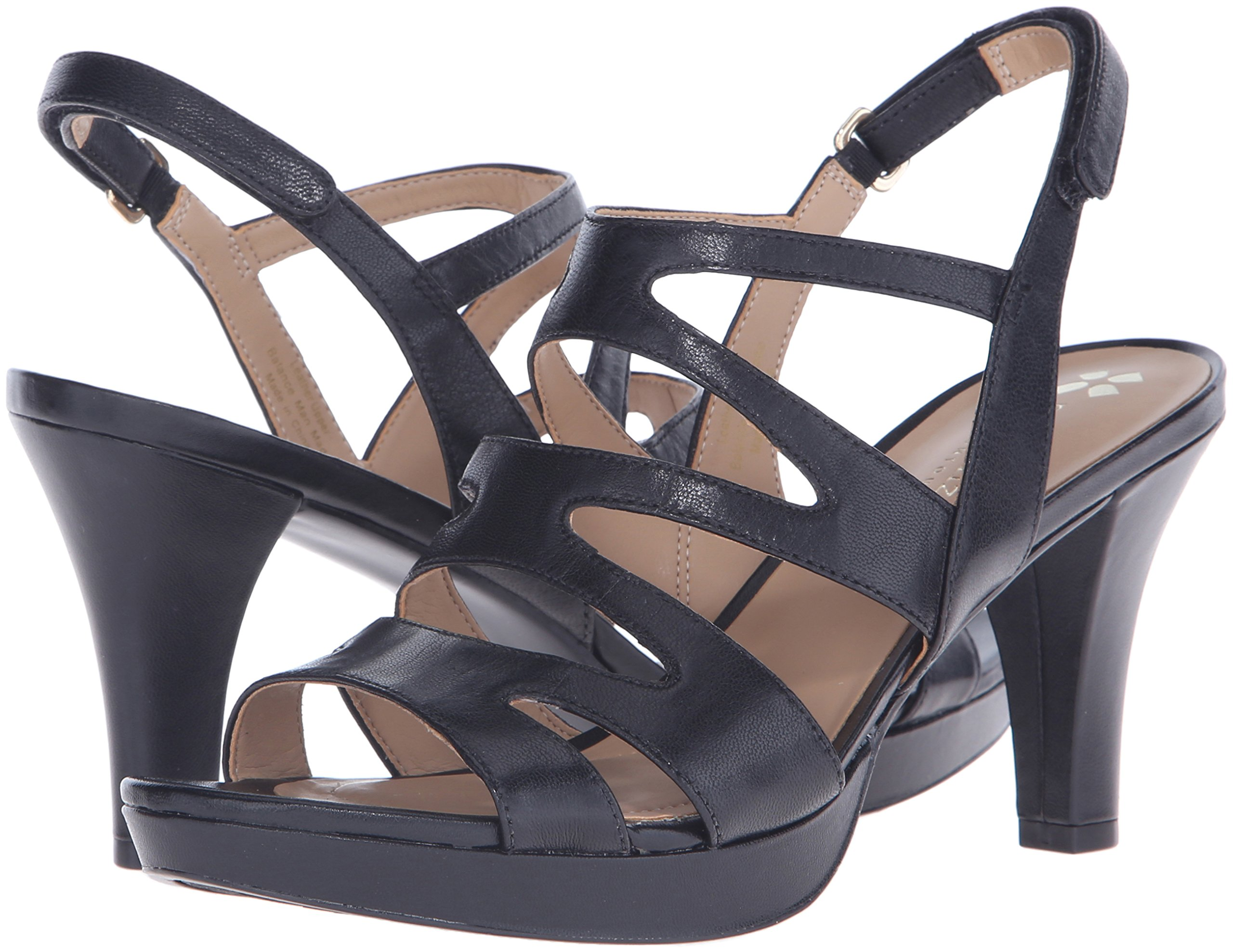 Naturalizer Women's Pressley Platform Dress Sandal, Black, 7 W US by Naturalizer (Image #6)