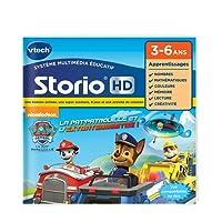 VTech - 274105 - Jeu Tablette - HD Storio - Pat Patrouille