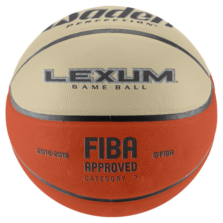 Baden Sports Baden Elite Lexum approuv/é FIBA Ballon de Basketball comp/étition Rev/êtement en Cuir Microfibres Qualit/é Haut de Gamme Garantie 1 an !
