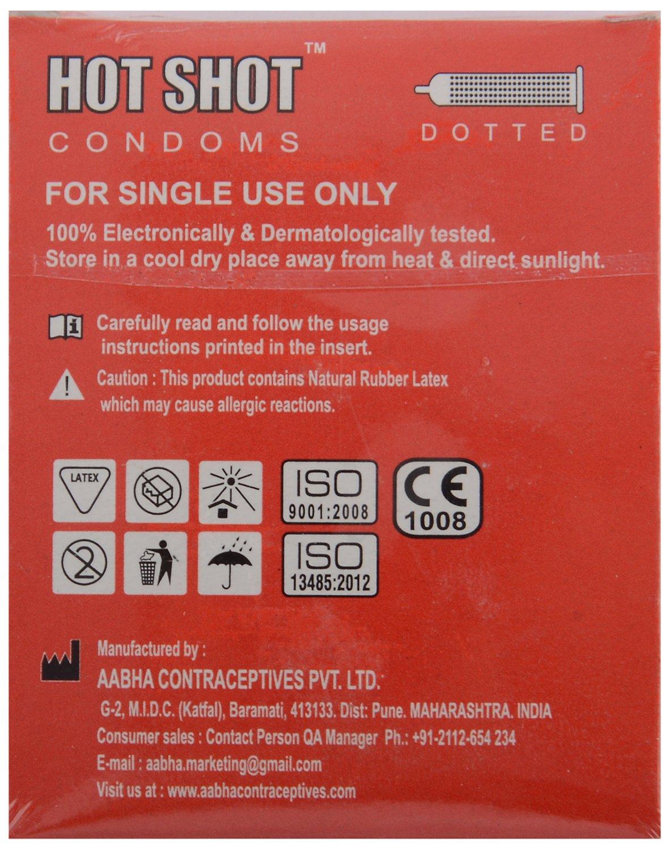 Shop for hotshot condoms