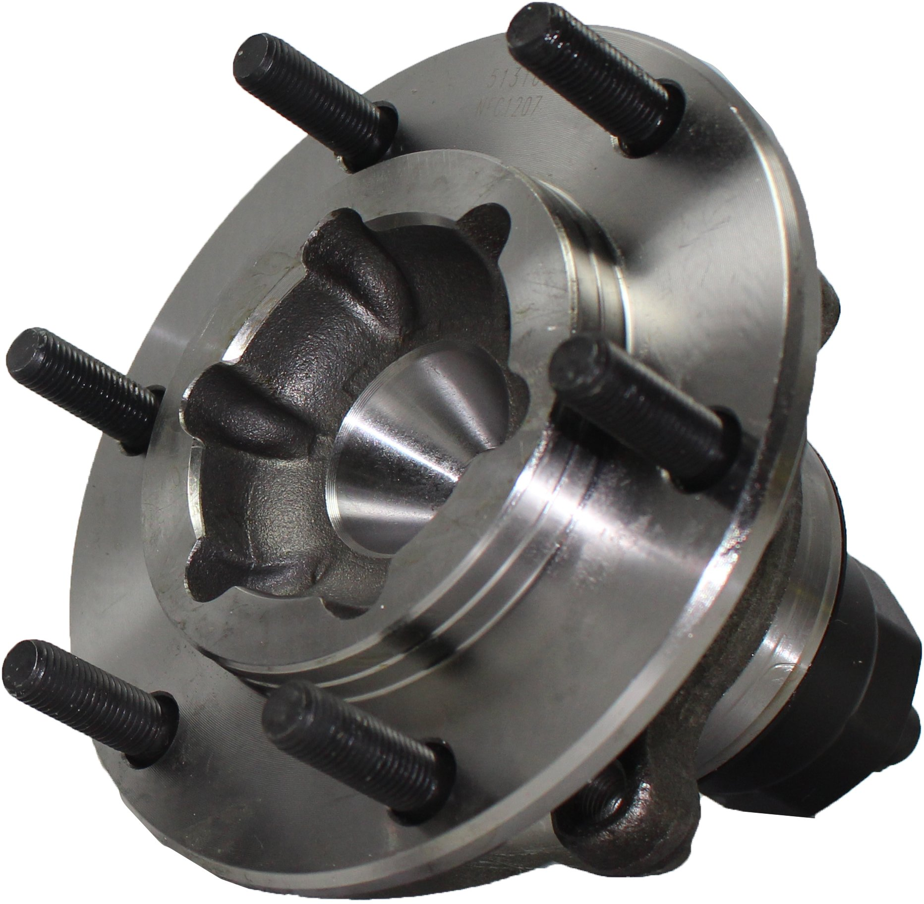 Detroit Axle - Front Wheel Bearing & Hub Assembly Driver or Passenger Side fits 2002-2004 Isuzu Axiom 2WD - [02-04 Rodeo 2wd] - 02-03 Rodeo Sport 2wd - [02 Honda Passport 2WD] by Detroit Axle (Image #2)