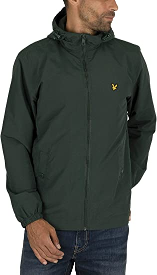 TALLA XS. Lyle & Scott Microfleece Lined Zip Through Jacket Chaqueta para Hombre