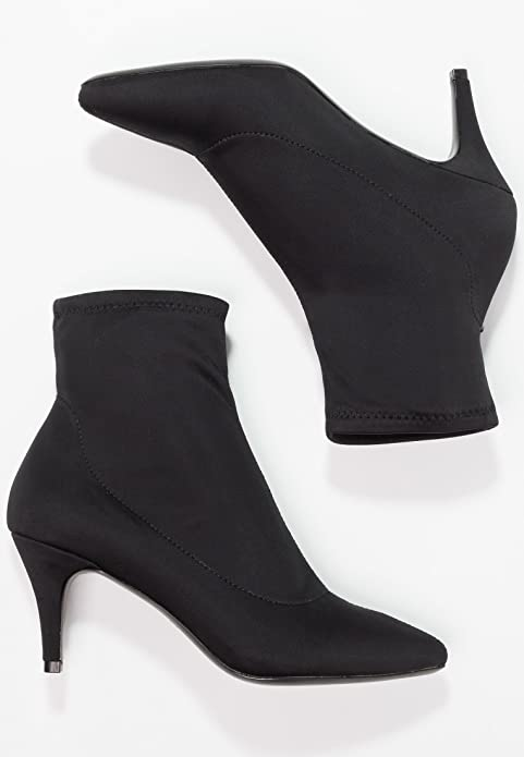 Even&Odd Elegantes Botas de Tobillo para Mujer - Ankle Boots con Tacón de Aguja - Botas con Tacón Bajo - Botas Cortas con Tacón Estilo Stiletto: Amazon.es: ...
