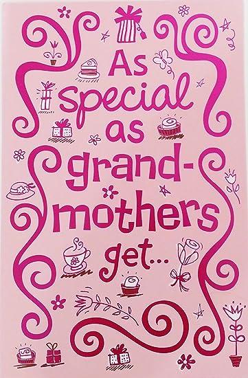 Amazon.com: Feliz cumpleaños a un especial abuela tarjeta de ...