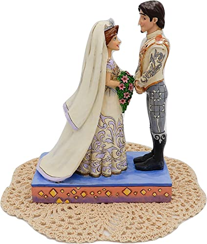 Disney Traditions Royal Wedding collection with Westbraid Doily The Big Day Rapunzel Flynn Rider
