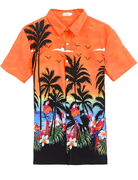 Amazon.com: Traje de Luau hawaiano para hombre y mujer ...