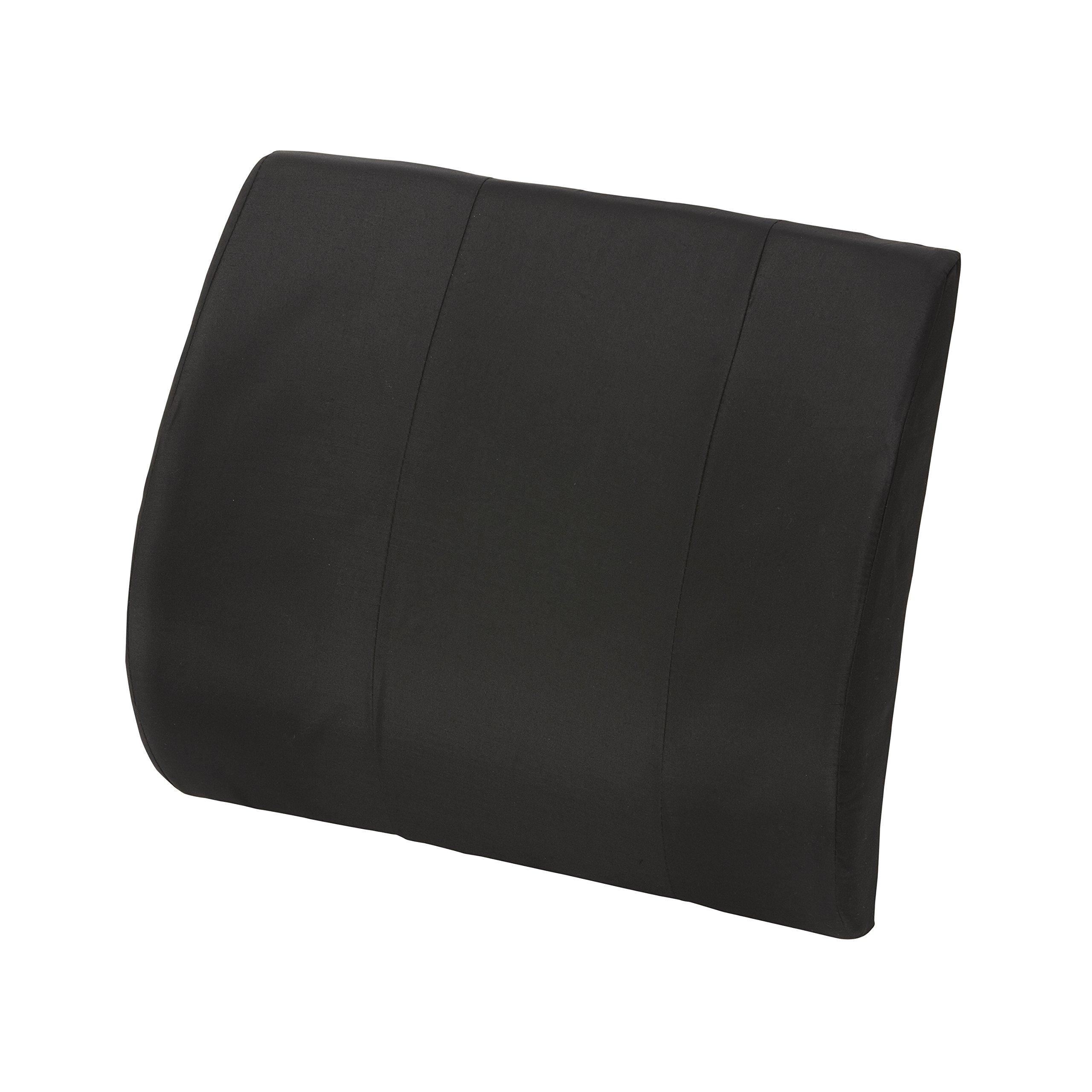 Lumbar Cushion - Office Chair Back Pillow - Low Back Support Cushion, Lumbar Back Support Foam Seat Cushion for Car, Black