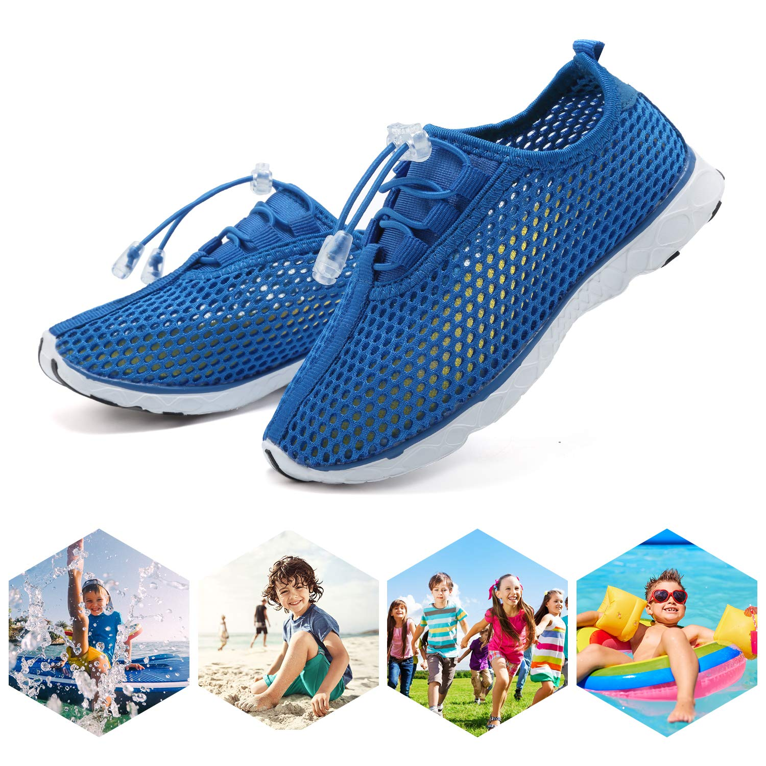 Toddler//Little Kid//Big Kid U118SSXT001 CIOR Boys /& Girls Water Shoes Aqua Shoes Swim Shoes Athletic Sneakers Lightweight Sport Shoes