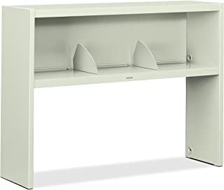 product image for HON 386548NQ 38000 Series Stack On Open Shelf Hutch, 48w x 13 1/2d x 34 3/4h, Light Gray