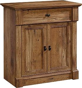 "Sauder Palladia Entryway Storage, L: 34.45"" x W: 18.35"" x H: 35.98"", Vintage Oak"