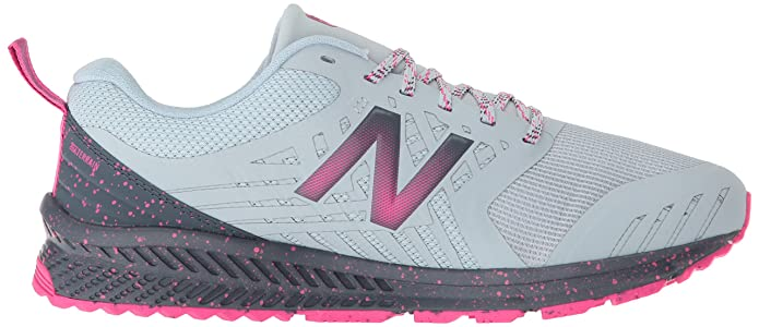 Amazon.com | New Balance Womens Nitrel V1 FuelCore Trail Running Shoe, Light Porcelain Blue, 7 D US | Trail Running