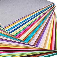 BENECREAT 40PCS 12 x 12 inches (30cm x 30cm) Soft Felt Fabric Sheet Assorted Color Felt Pack DIY Craft Sewing Squares…