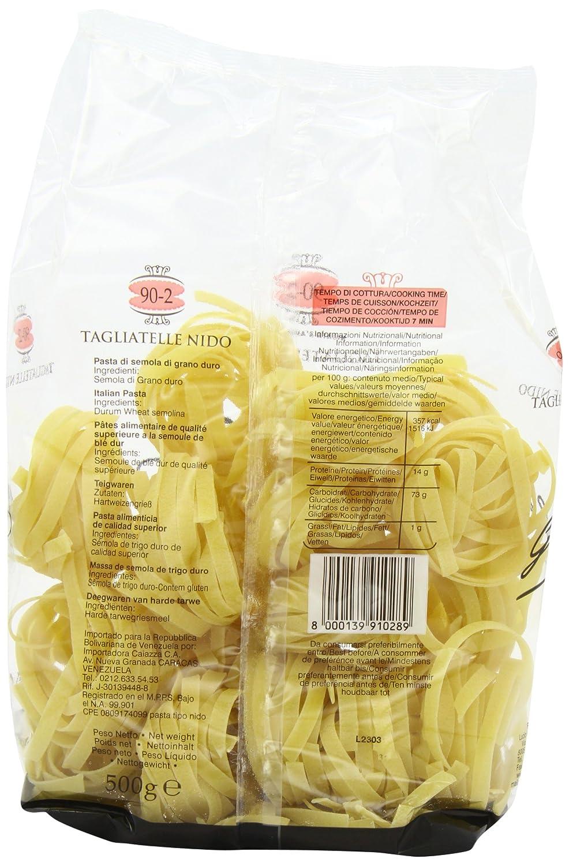 Garofalo Tagliatelle Nido Pasta n.90-2 - 500g: Amazon.es: Alimentación y bebidas