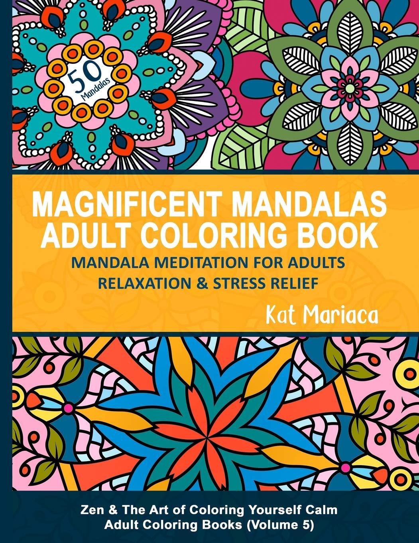 Amazon.com: Magnificent Mandalas Adult Coloring Book ...