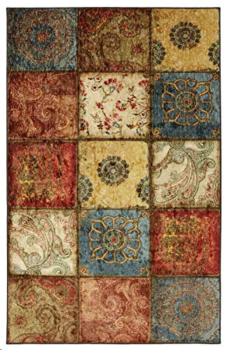 Mohawk Home Free Flow Artifact Panel Area rug, 4 x6 , Multicolor