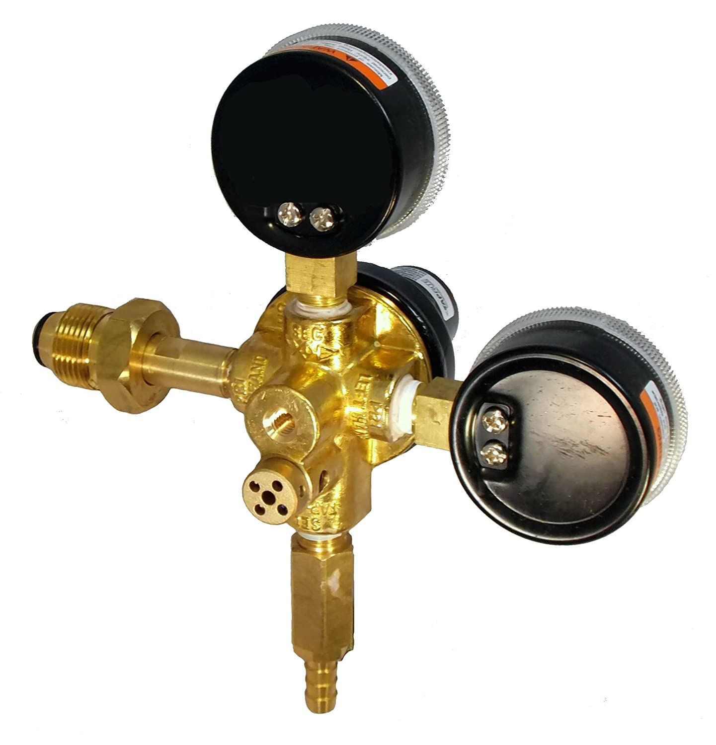 Amazon.com: Taprite Primary Keg Brass Beer Regulator With Commercial ...