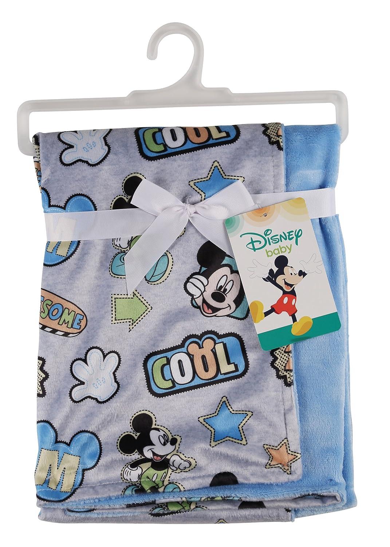 Amazon.com: Disney Mickey Mouse y de visón Sherpa manta de ...