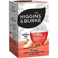 Higgins & Burke Herbal Tea, Apple Cinnamon, 20-Count