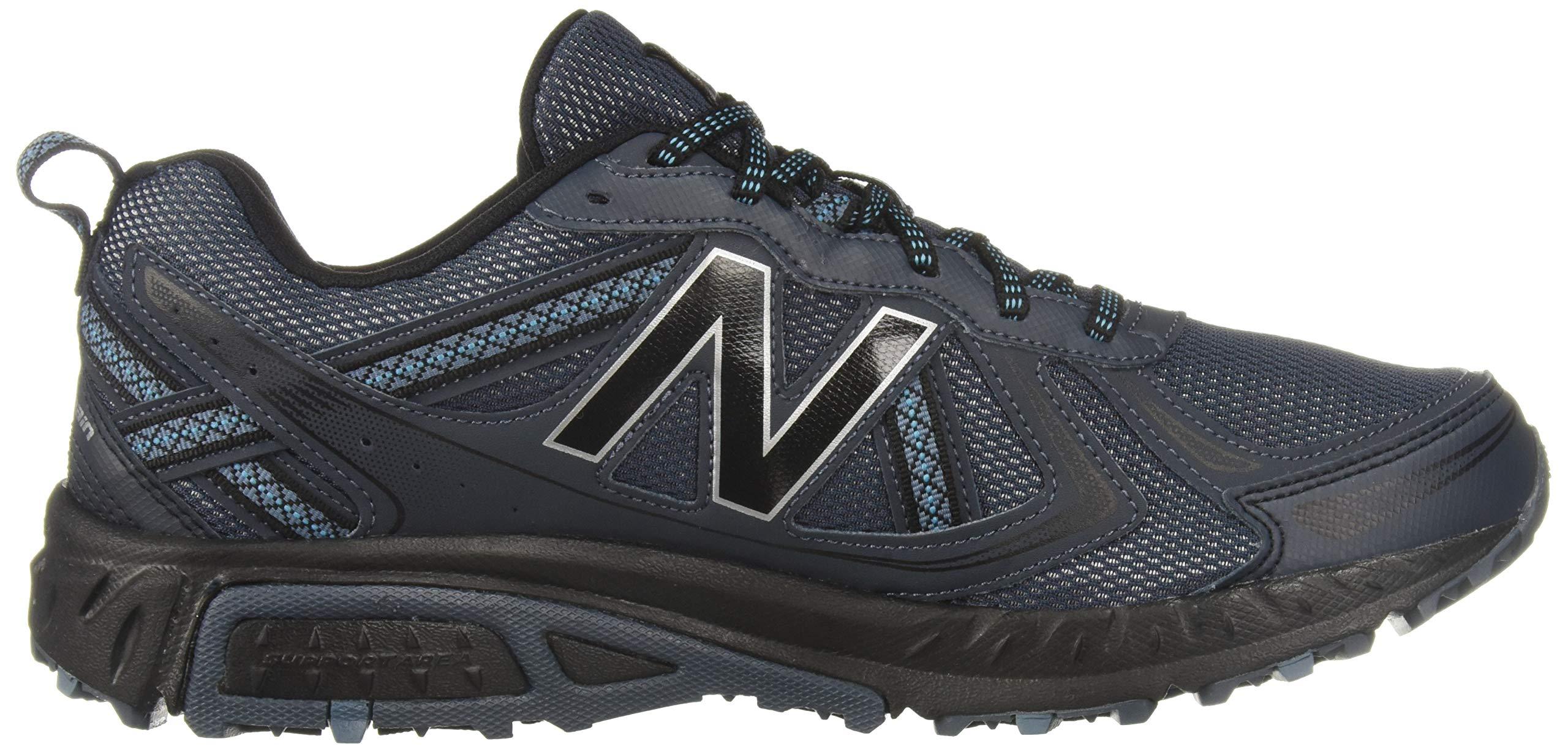 New Balance Men's 410v5 Cushioning Trail Running Shoe, Petrol/Cadet/Black, 7 D US by New Balance (Image #7)