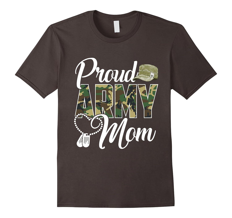 Proud Army Mom Shirt Gift-alottee gift
