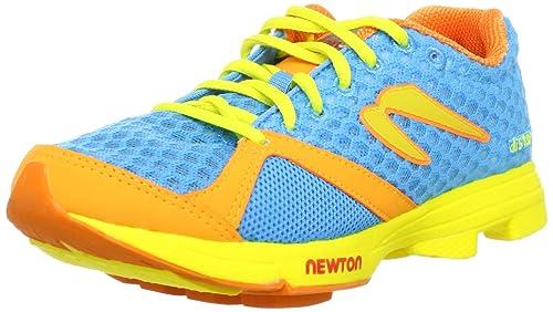Newton Distance 00612 Racer Zapatillas de Running para Mujer, Color Azul y Naranja: Amazon.es: Zapatos y complementos