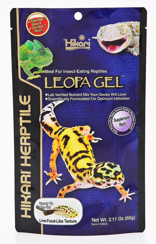 Hikari LeopaGel Food for Insect-Eating Reptiles, 2.11 oz (60g)