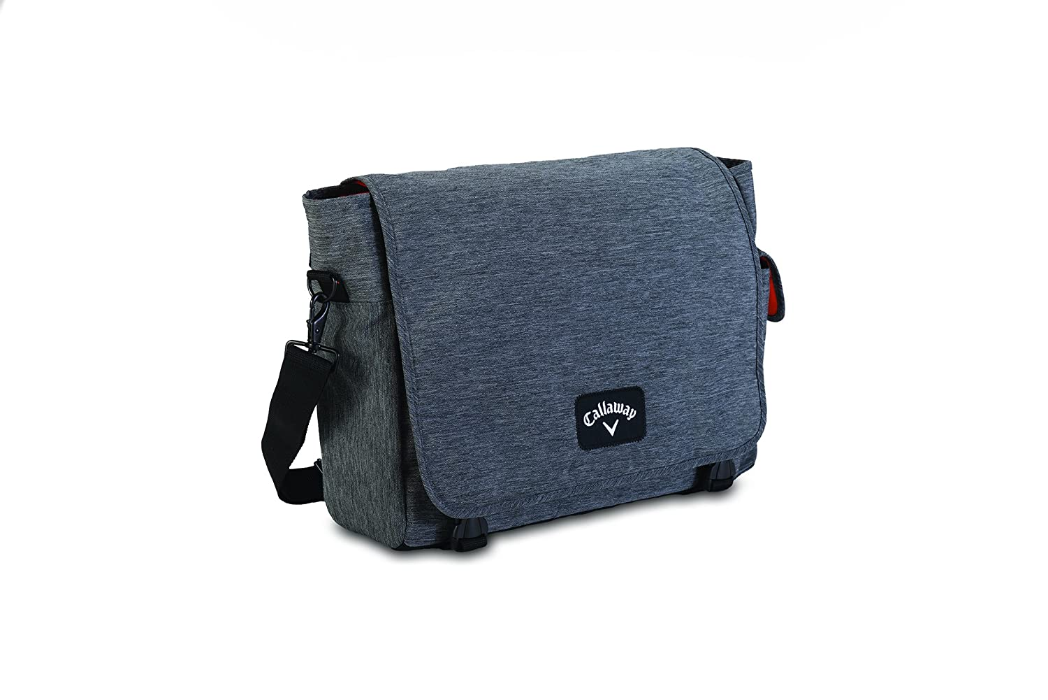 Amazon.com   CALLAWAY CLUBHOUSE MESSENGER BAG GREY BLACK NEW!   Sports    Outdoors 3a49384891159