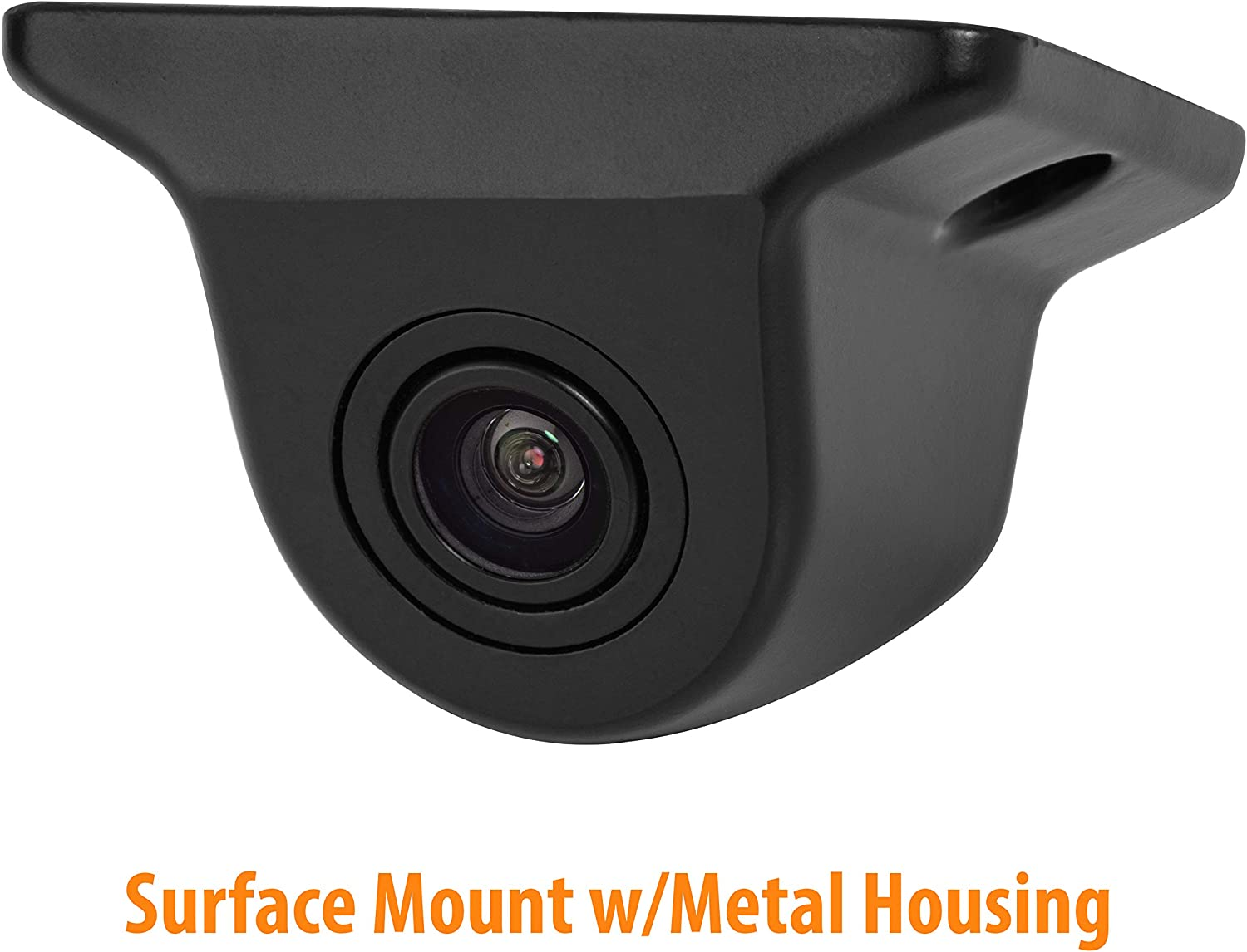 Universal HD Backup Camera with Multiple Mounting Options 6-in-1 Camera System BOYO VTK601HD