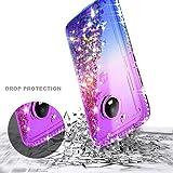 Moto E4 Case w/[Tempered Glass Screen