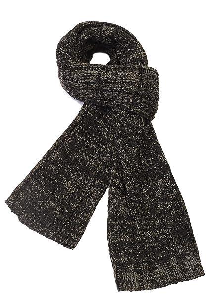 5b239e43a9c0 Bufanda Hombre Invierno Braga Cuello Moda Otoño Bufandas para Hombres